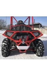 Бампер передний титановый с креплением под лебедку POLARIS ACE 570 398